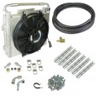 """BD Diesel Xtrude Double Stack Transmission Oil Cooler (Universal 5/8"""" Tubing)"""