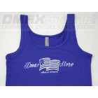 SALE!! Dmaxstore Ladies Patriotic Tank Top-BLUE