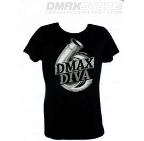 (SALE!) Ladies DmaxStore Dmax Diva Black Tee
