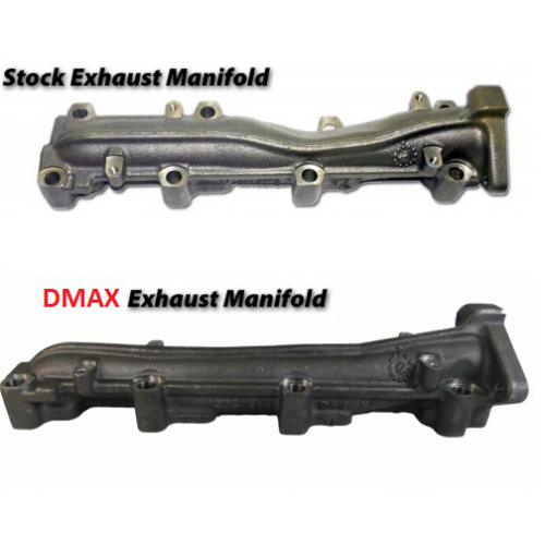 Dmaxstore Full Flow Driver Side Exhaust Manifold
