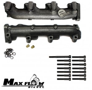 Max-Flow Log Style Duramax Manifolds, 2001-2004 GM 6.6L