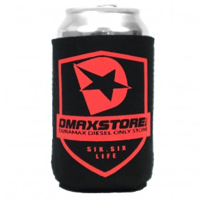 DmaxStore Shield Neoprene Can Koozie, Black