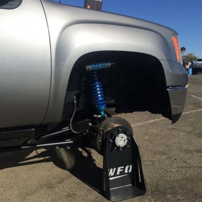 wfo duramax  sas kit  ford superduty axle radius