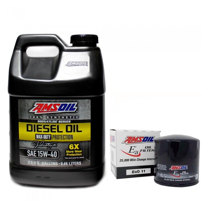 Amsoil Duramax Oil Change Kit 2020 Gm 6 6l Duramax Dmax Store
