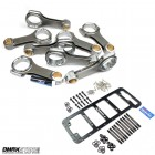 (SALE) Carrillo 9321 Pro-H Duramax Connecting Rods W/ FREE Duramax Main Girdle & Stud Kit (Full Set of 8) (1800HP)