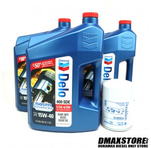 DmaxStore Engine Oil Service Package, 2001-2016 GM 6.6L Duramax