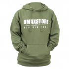DmaxStore Midweight Army Heather Hoodie
