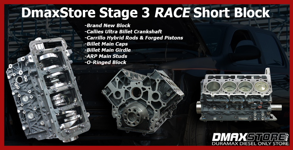 Duramax Stage 3 Race Engine