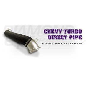 Diamond Eye Turbo Direct Down Pipe (LB7)