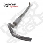 "Diamond Eye 4"" Stainless - No Muffler"