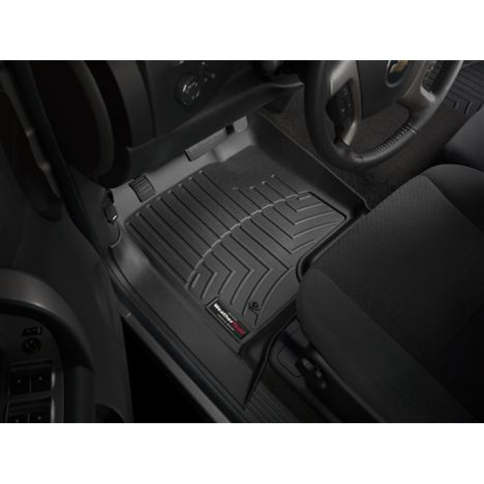 2019 Chevrolet Silverado 1500 Ld Double Cab Interior: Weathertech Black Floor Liners (2007.5-2019)