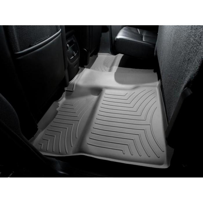 Weathertech Custom Fit Rear Floorliner For Chevrolet Silverado Crew Cab Grey 460660 Interior Accessories Floor Mats Cargo Liners