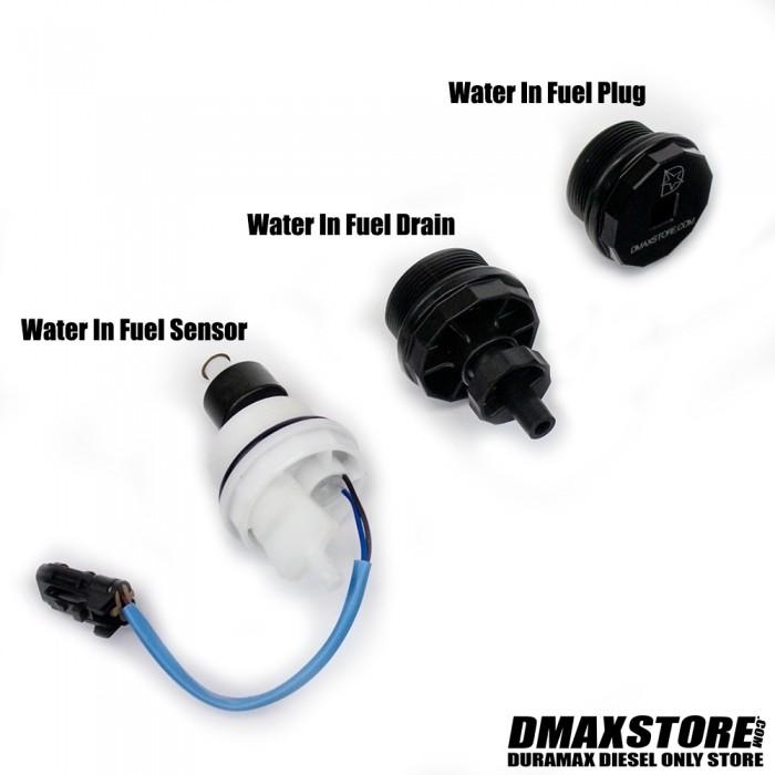 Fuel Filter Drain 6.6L Duramax Water in Fuel Sensor OEM Duramax item by Racor