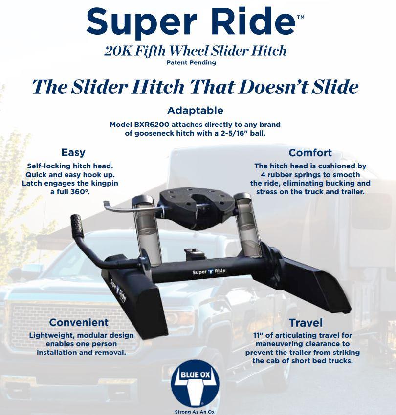 Blue Ox Super Ride 5th Wheel Hitch Dmax Store