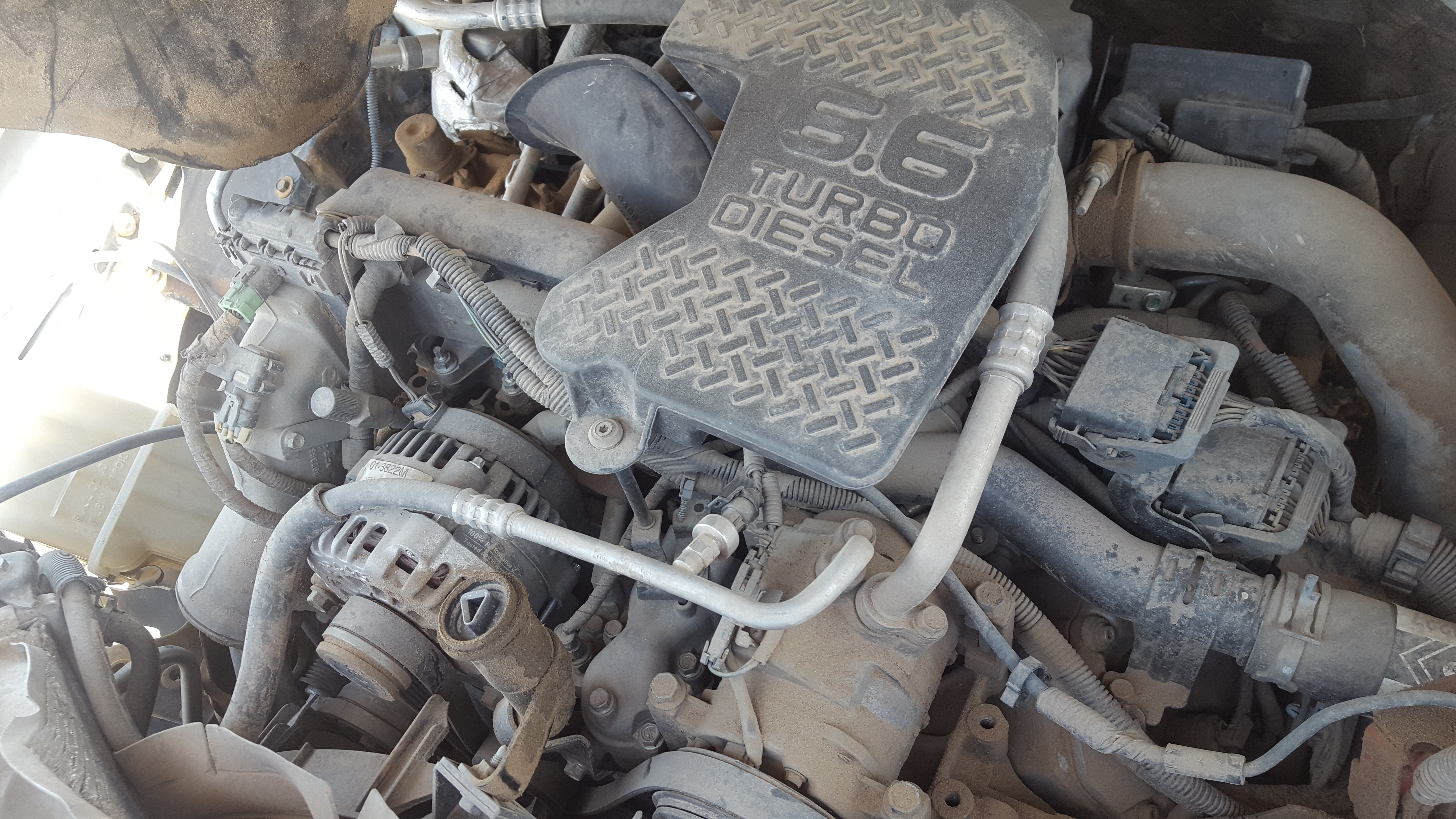 2007 Duramax Diesel LBZ and 6-speed Allison transmission